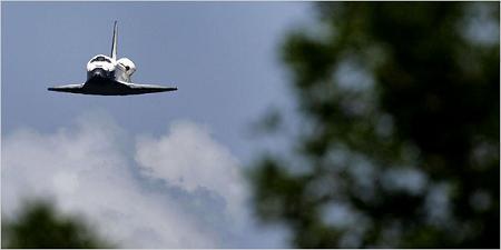 Shuttle Glides Safely Home in Spite ofDamage