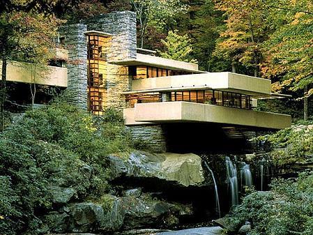 Fallingwater - Edgar J. Kaufmann, Sr. Residence, designed by Frank Lloyd Wright