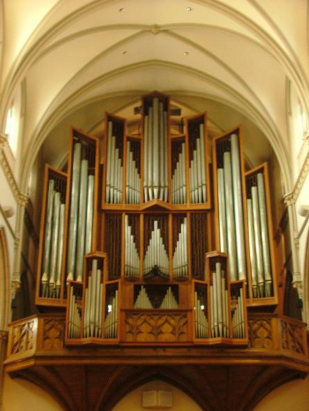 1962 Beckerath Organ - St. Paul's Cathedral, Pittsburgh, Pennsylvania