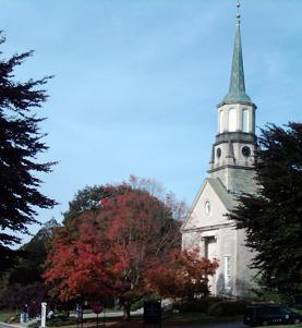 Connecticut College Chapel sm