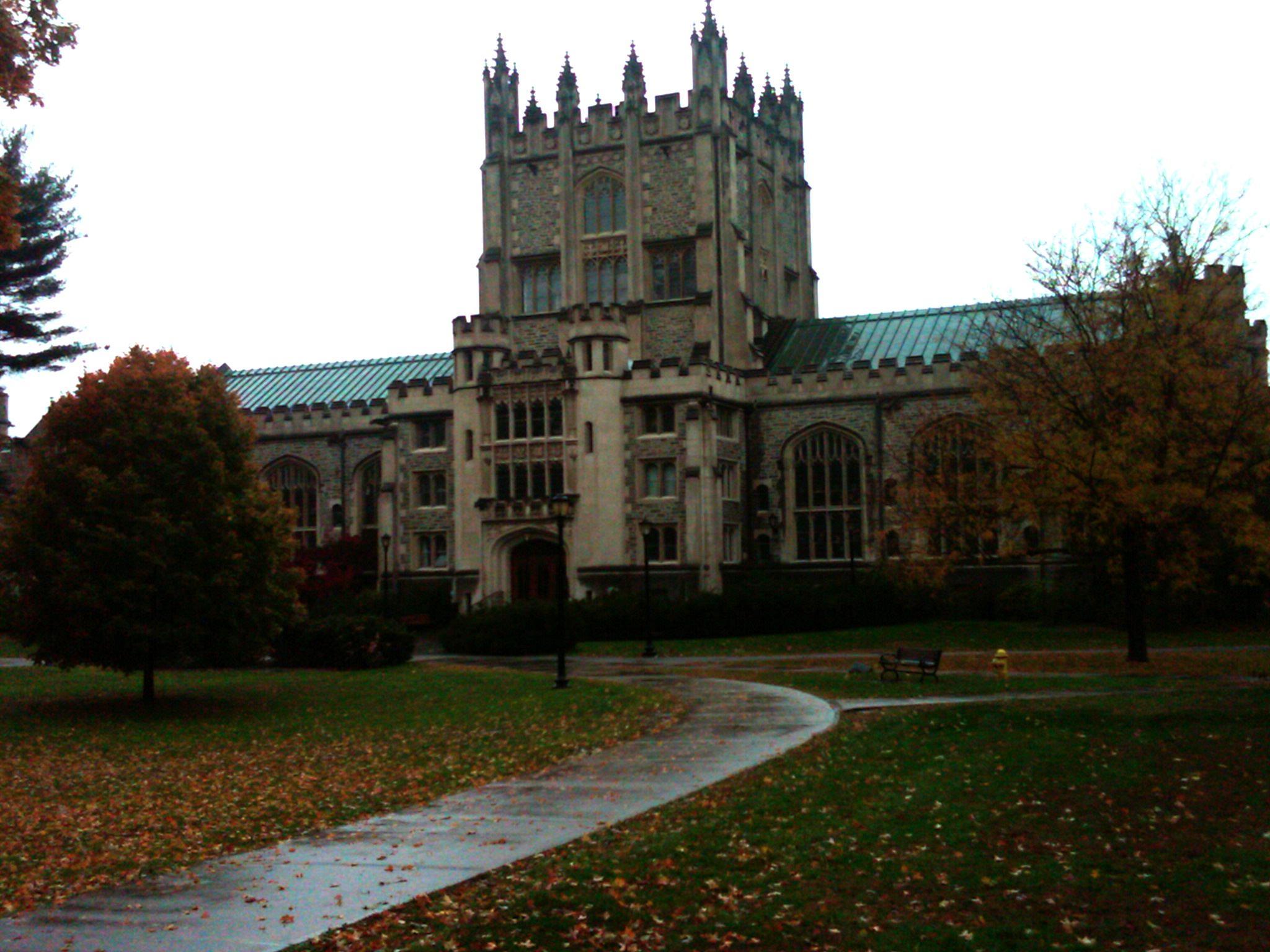 College Tour 2009: Vassar College | Rummaging About