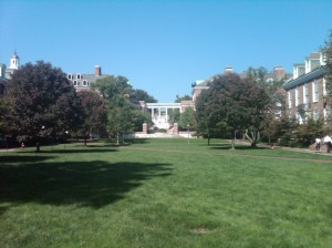 Johns Hopkins University Homewood Campus - Wyman Quad