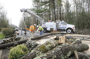 "CMP crews ""battle"" to get power back on"